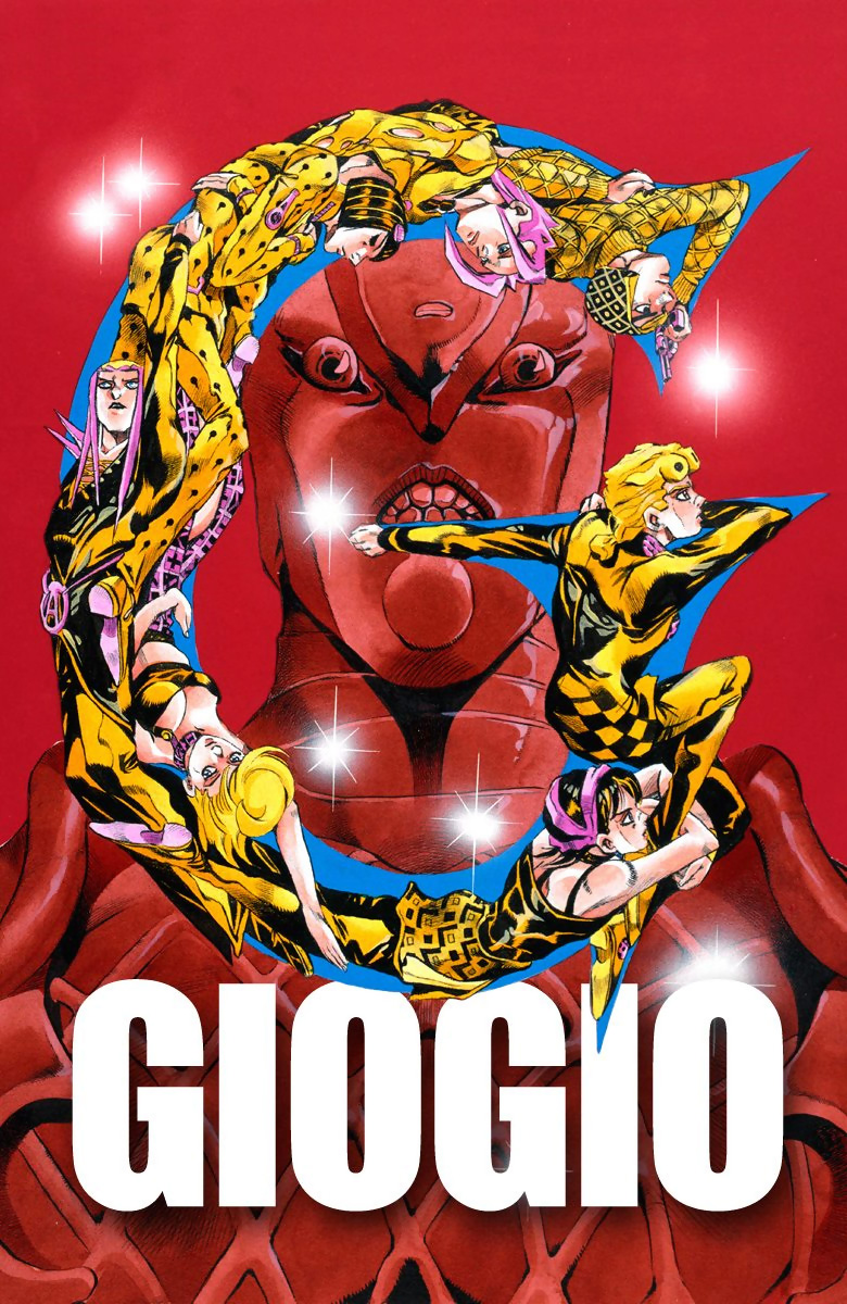 JoJo's Bizarre Adventure Part 5 - Vento Aureo (Official Colored)